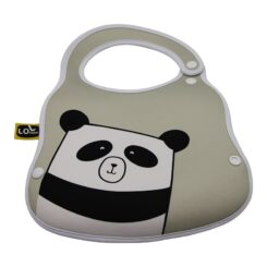 Lugano BiBo- A Bib & Bottle Holder